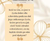 Księga Kaznodziei 6:12