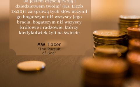 """""""Ja jestem dziedzictwem Twoim..."""" / Księga Liczb 18:20"""