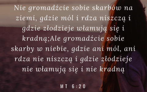 Ewangelia Mateusza 6:19-20