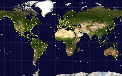 satelitarne zdjęcie Ziemi