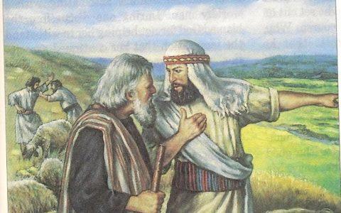 Abraham i Lot / fot. Blogspot.com
