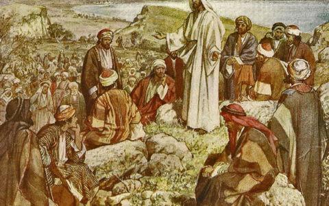Kazanie na górze / The Life of Jesus / William Hole / domena publiczna
