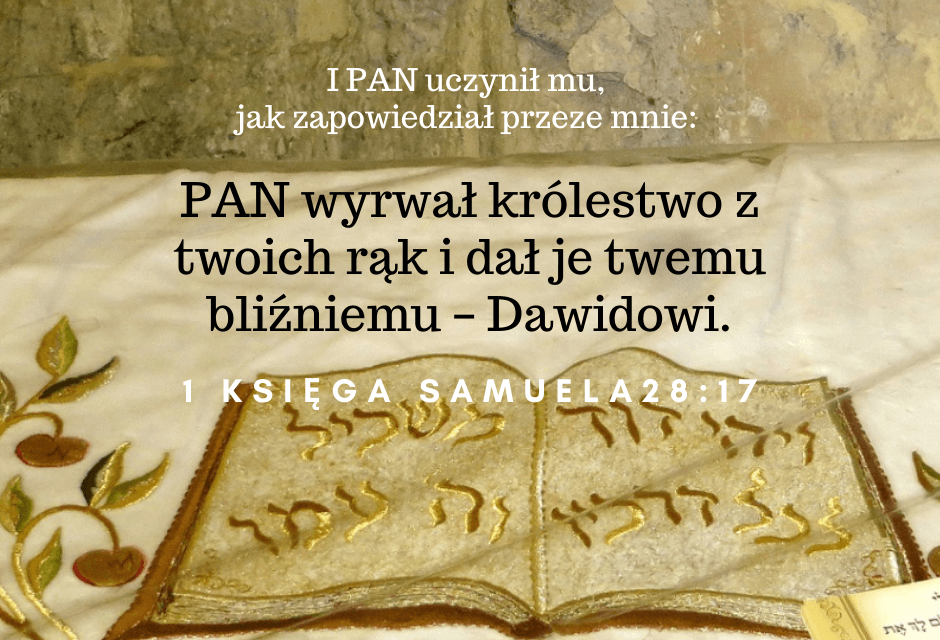 1 Samuel 28:15-20 [chiazm]
