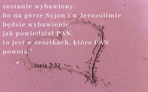 księga Joela 2:32 [chiazm]