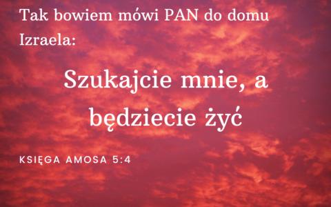 Księga Amosa 5:4-6 [chiazm]