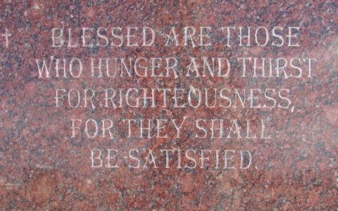 Błogosławieni, którzy łakną* i pragną sprawiedliwości, gdyż oni zostaną nasyceni. / Wikipedia / (CC BY-SA 4.0)