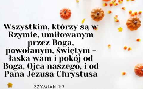 List do Rzymian 1:7 [komentarze]