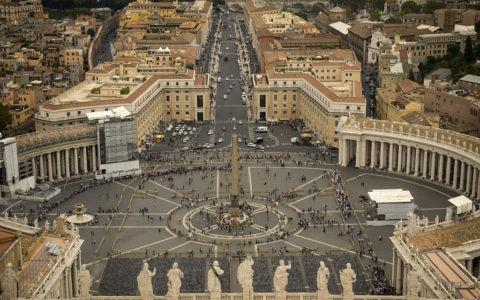 Watykan, Plan Św. Piotra / (CC BY-SA 2.0)