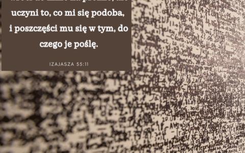 Księga Izajasza 55:11