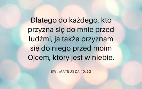 Ew. Mateusza 10:32