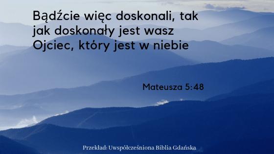 Mateusza 5:48