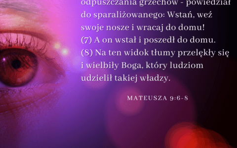 Ewangelia Mateusza 9:1-8 [chiazm]