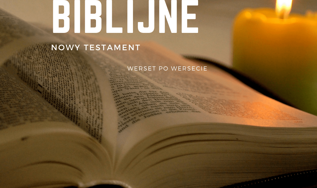 Komentarze biblijne / Nowy Testament