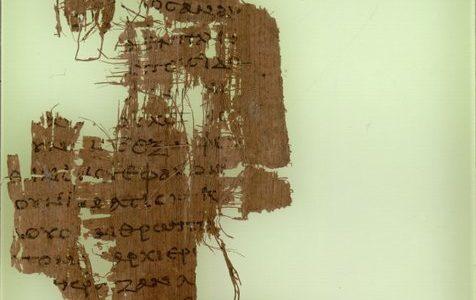 Najwcześniejsze greckie manuskrypty Nowego Testamentu / na zdjęciu Papirus 90 / domena publiczna