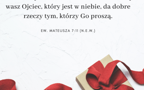 Co Biblia mówi o Bożych darach / Ewangelia Mateusza 7:11