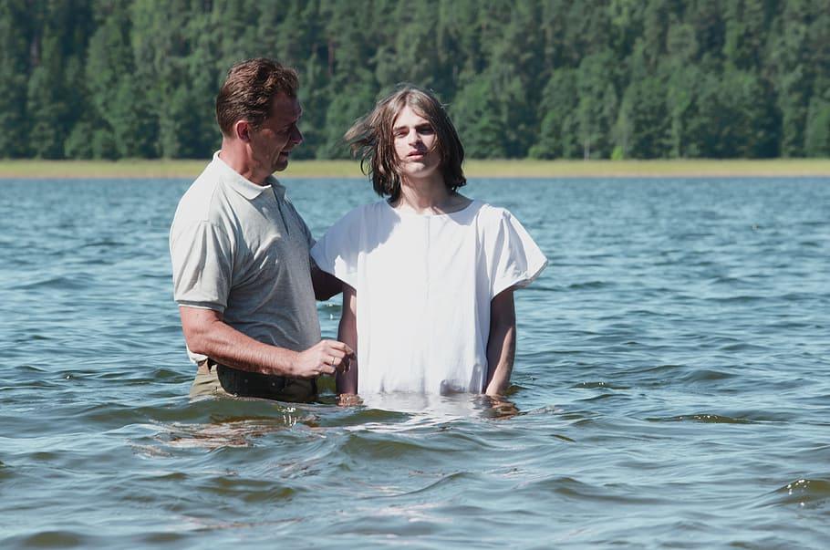 chrzest w Biblii