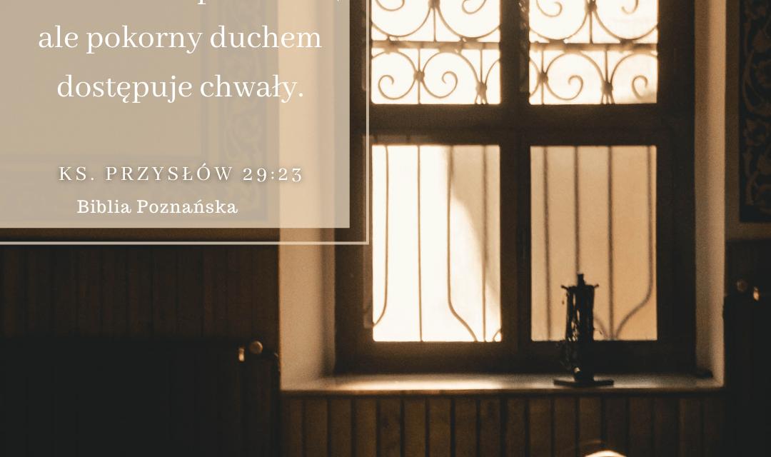 Księga Przysłów 29:23