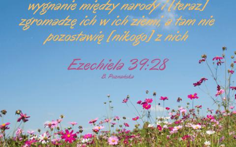 Księga Ezechiela 39:28