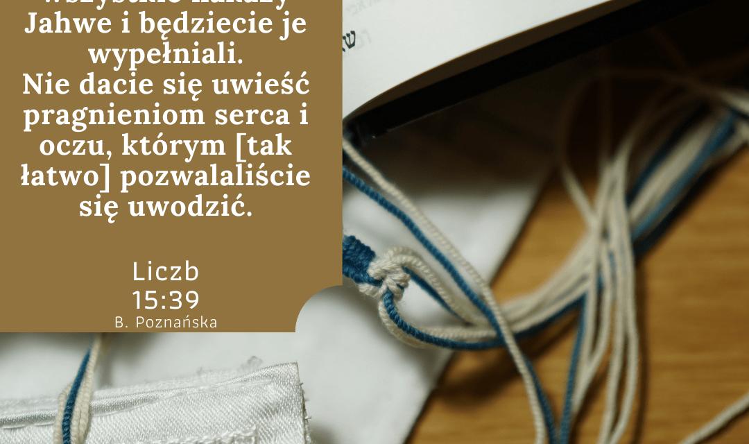 Księga Liczb 15:39