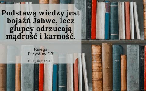 Księga Przysłów 1:7
