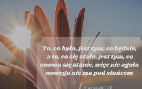 Księga Kaznodziei 1:9