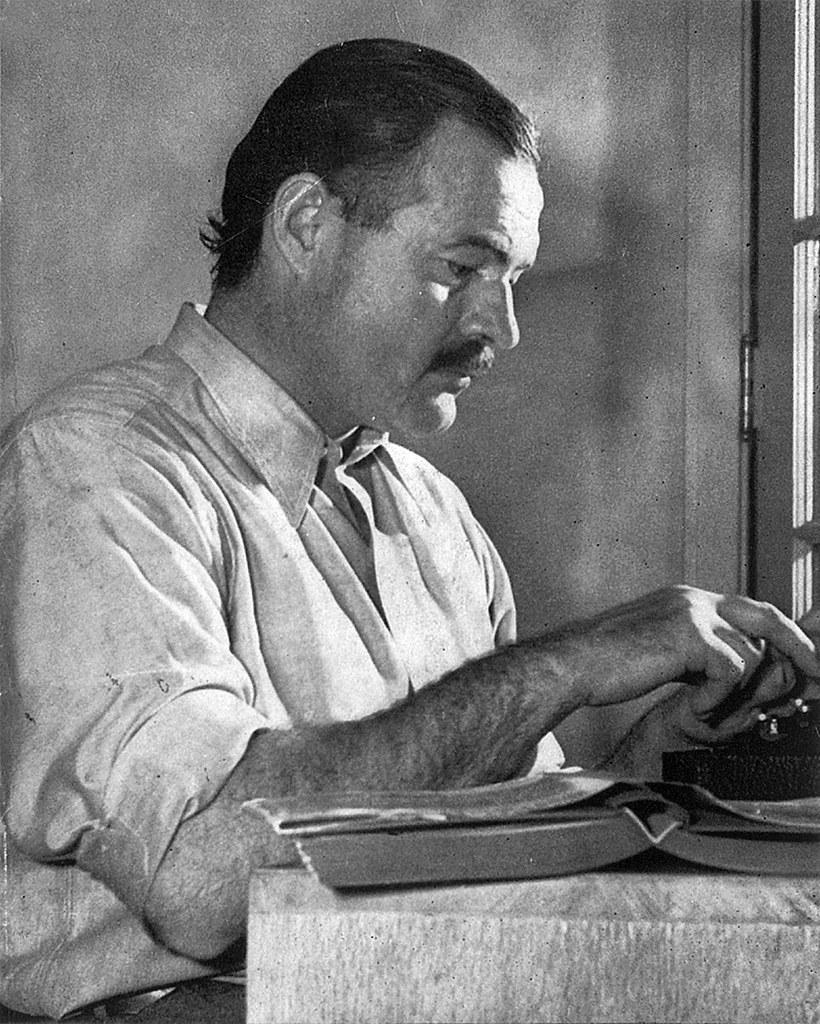 Ernest Hemingway / CC BY-NC 2.0 / tekst: Ernest Hemingway a katolicyzm