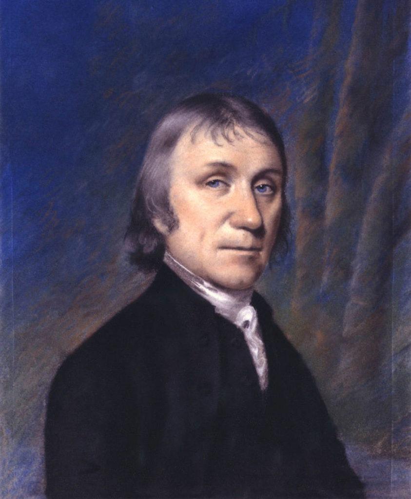 Joseph Priestly / fot. wolna domena / tekst: Przypowieść o siewcy