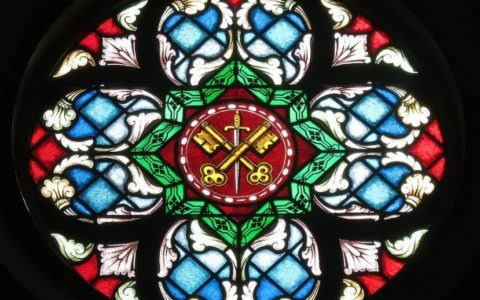 Klucze Piotra / Saint Peter Catholic Church (Millersburg, Ohio) / Wikipedia