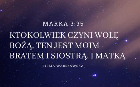 Ewangelia Marka 3:35