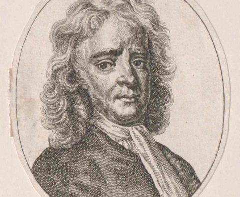 Izaak Newton / Österreichische Nationalbibliothek - Austrian National Library / wolna domena / artykuł: Izaak Newton a religia, Biblia i Kościół katolicki