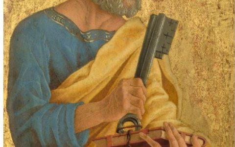 Prymat Piotra biblijny? / Marco Zoppo / apostoł Piotr