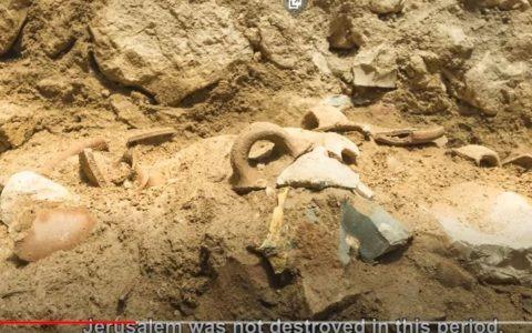 artykuł: Trzęsienie ziemi w Biblii. Przełomowe odkrycie archeologów / źródło zdjęcia: screen YouTube/ Israel Antiquities Authority Official Channel
