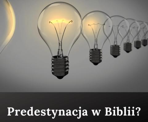 Predestynacja w Biblii?